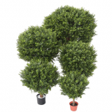 BUXUS KOULE RED DAY UV, 60cm