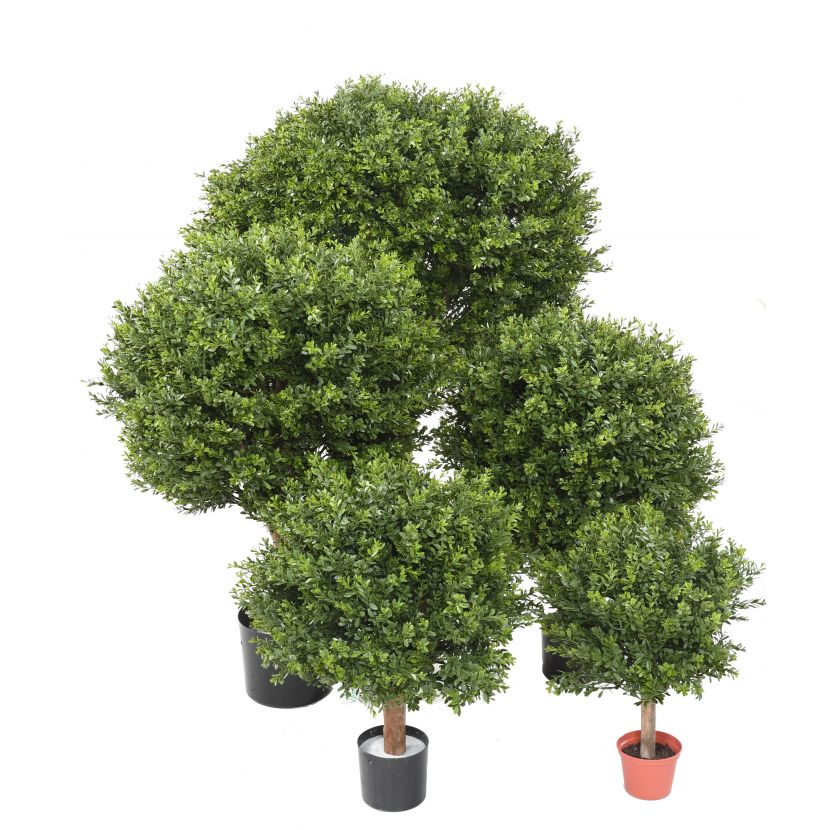 BUXUS KOULE RED DAY UV, 100cm