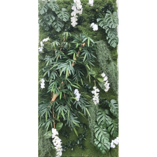 WALL PLANT BAMBOO PHILO, 130x260cm