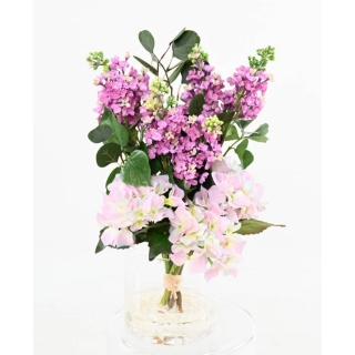 Kompozice BOUQUET RETURN OF SPRING LILAC, 50cm